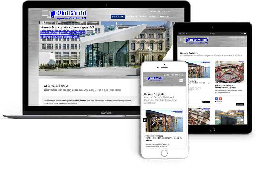 Webdesign-für-Buthmann-Ingenieur-Stahlbau-AG