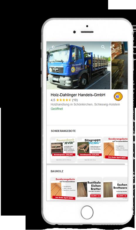 Google My Business Holz Dahlinger #2