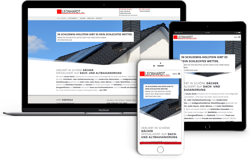 Webdesign-und-Konzept-für-Dachdeckerei-Leonhardt-Schwentinental