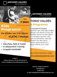 Flyer-KIDS-Camp-Antonio-Valdes-Tennisakademie