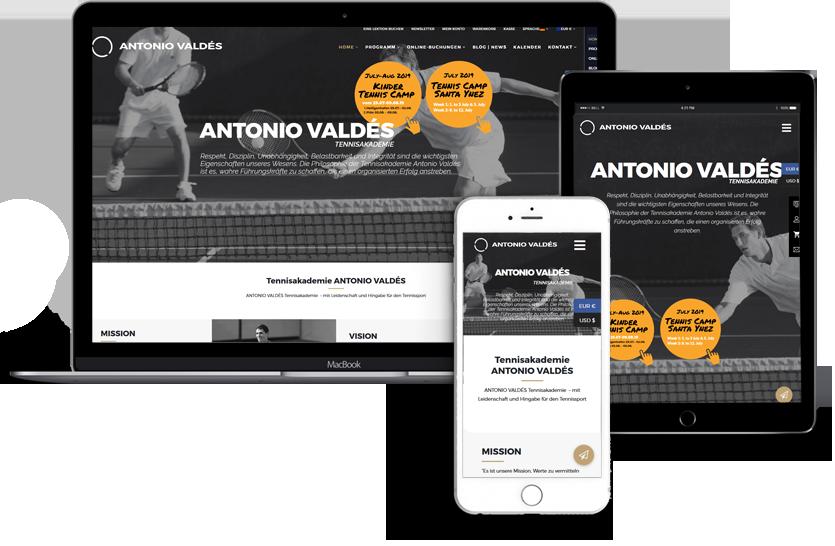 Webdesign-für-ANTONIO-VALDÉS-Tennisakademie