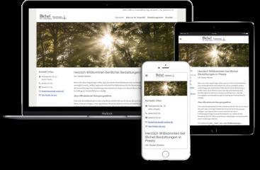 Webseitenerstellung-Bichel-Bestattungen