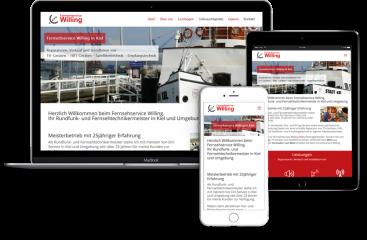 Webseitenerstellung-Fernsehservice-Kiel