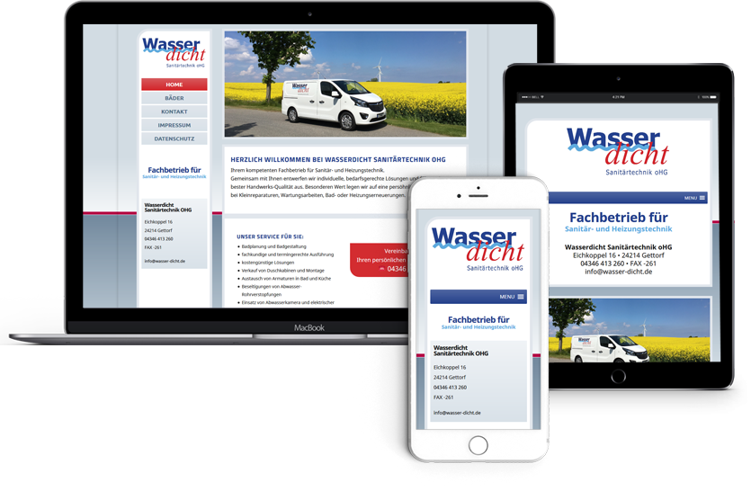Webseitenerstellung-Firma-Wasserdicht-Gettorf
