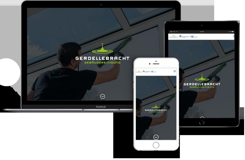 Webseitenerstellung-Gebäudereinigung-Gerdellebracht