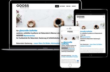 Webseitenerstellung-Gooss-Marmorservice