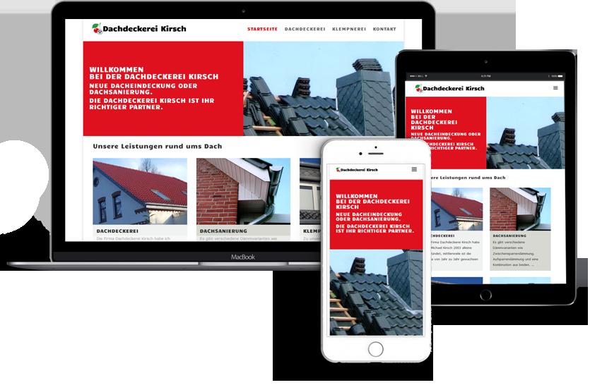 Webseitenerstellung-für-Dachdeckerei-Kirsch
