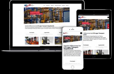 Webseitengestaltung-LTS-Lagertechnik