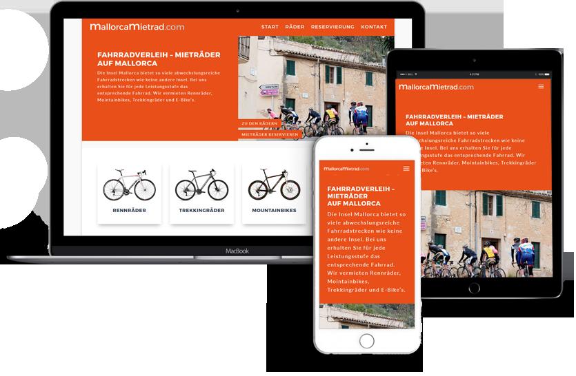Webseitengestaltung-Mallorca-Mietrad